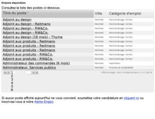 reitmans.cvmanager.com screenshot