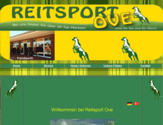 reitsport-ove.de screenshot