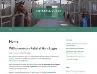 reitstall-lugge.de screenshot