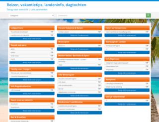 reizen.startgigant.nl screenshot