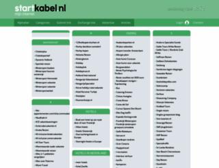 reizen.startkabel.nl screenshot