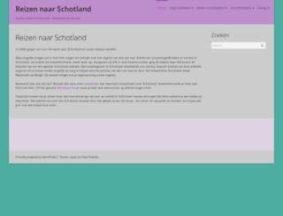 reizennaarschotland.nl screenshot