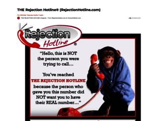 rejectionhotline.com screenshot
