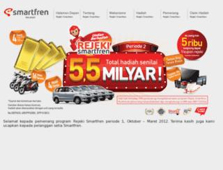rejeki.smartfren.com screenshot