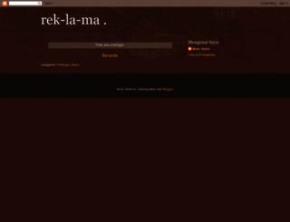 rek-la-ma.blogspot.com screenshot
