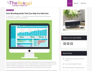 rekapi.com screenshot