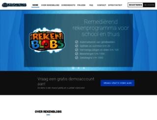 rekenblobs.nl screenshot