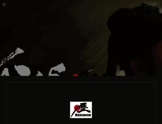 rekishin.com screenshot