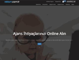 reklam.com.tr screenshot