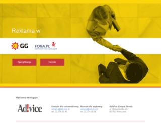 reklama.gadu-gadu.pl screenshot