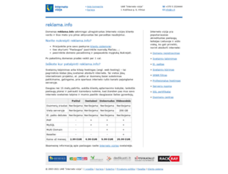 reklama.info screenshot