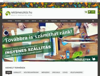reklameszkoz.hu screenshot