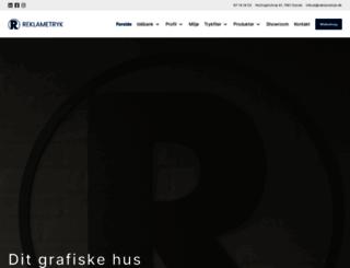reklametryk.dk screenshot