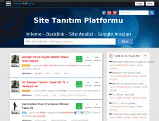 reklamsiniz.com screenshot