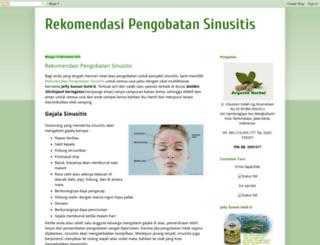 rekomendasipengobatansinusitis.blogspot.com screenshot