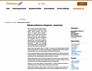 rekopis-znaleziony-w-saragossie.streszczenia.pl screenshot