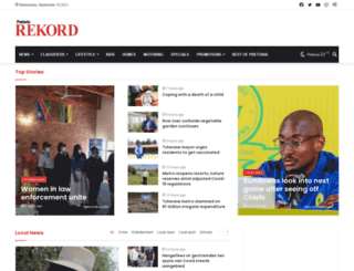 rekordmoot.co.za screenshot
