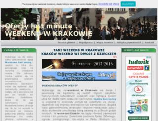 rekreacjawkrakowie.pl screenshot