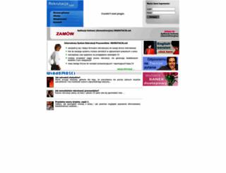 rekrutacja.net screenshot