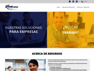 rekursos.com screenshot