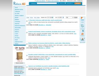 relace.cz screenshot