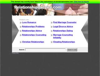 relationshipsadvice.com screenshot