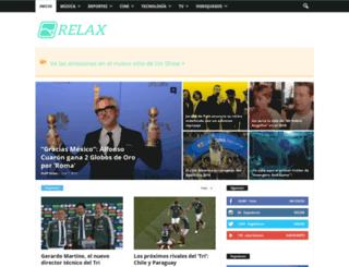 relax.mx screenshot