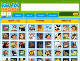 relaxarcade.com screenshot