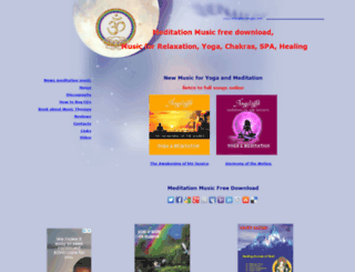 relaxation-musics.com screenshot
