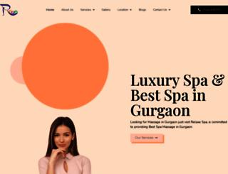 relaxbodyspa.com screenshot