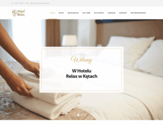 relaxhotel.pl screenshot