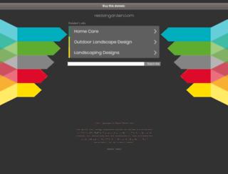 relaxingarden.com screenshot