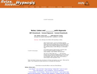 relaxlistenhypnosis.com screenshot