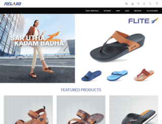 relaxofootwear.com screenshot