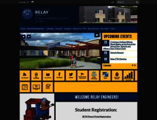 relayes.bcps.org screenshot