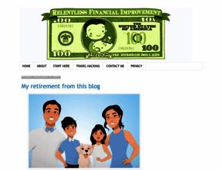 relentlessfinancialimprovement.com screenshot