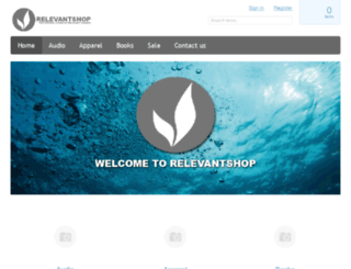 relevantshop.org screenshot
