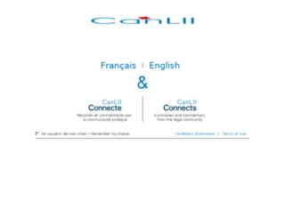 releve.canlii.org screenshot