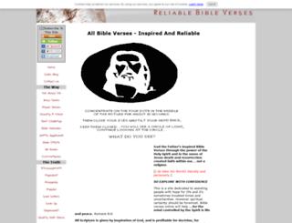 reliable-bible-verses.com screenshot