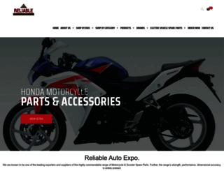 reliableautoexpo.com screenshot