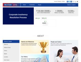 reliancecapital.co.in screenshot