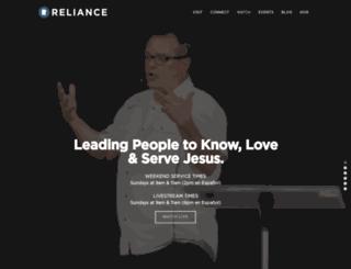 reliancechurch.org screenshot
