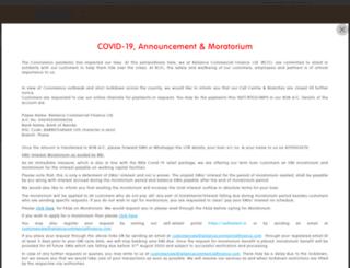 reliancemoney.com screenshot