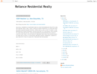 relianceresidentialrealty.blogspot.com screenshot