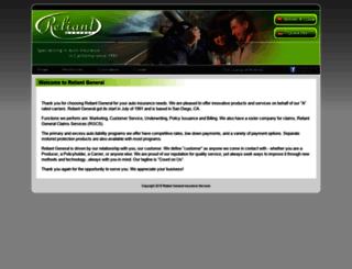 reliantgeneral.com screenshot