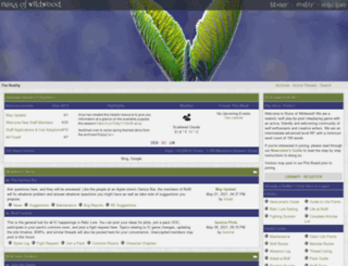 relic-lore.net screenshot