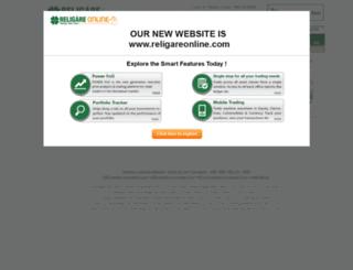 religaresecurities.com screenshot