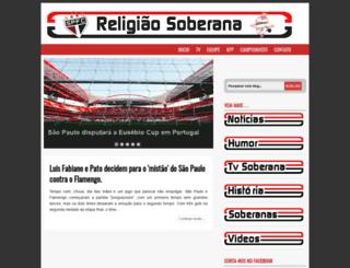 religiaosoberana.blogspot.com.br screenshot