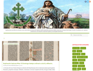 religioncatolicaromana.blogspot.cl screenshot