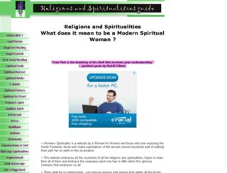 religions-and-spiritualities-guide.com screenshot